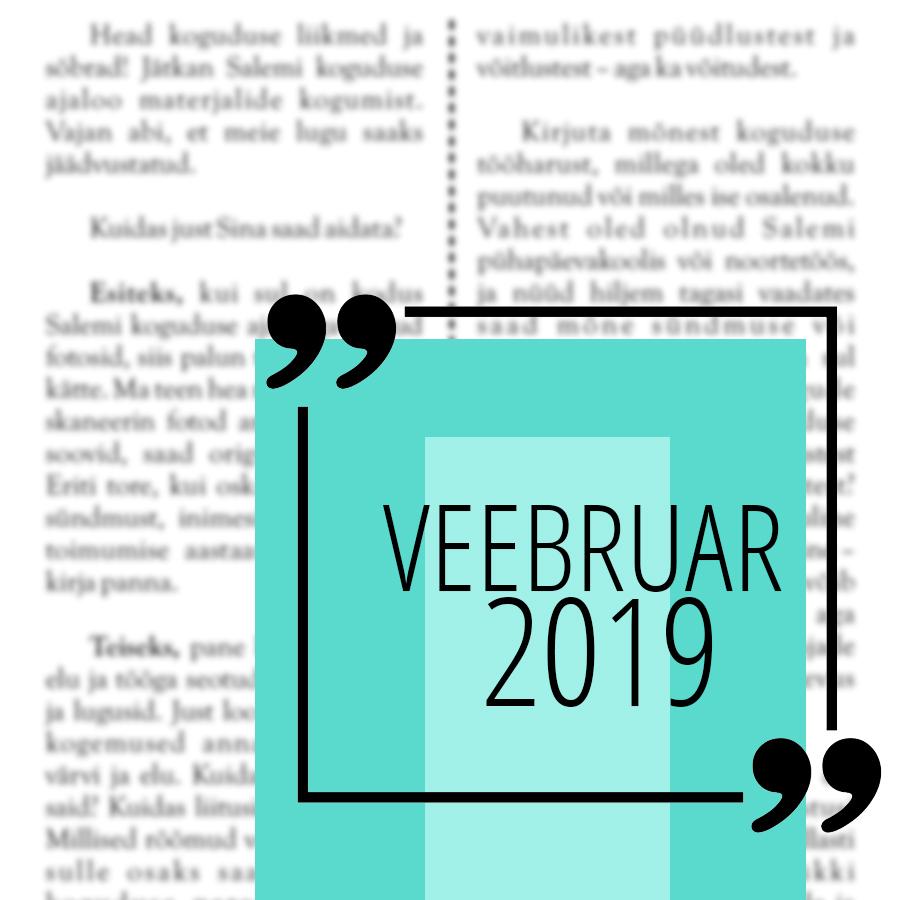 Salemi kuukiri 2019 veebruar